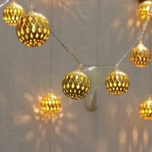 Креативный дизайн железный шар светильник декоративный наружный