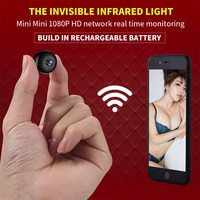Remote Control Video Recording Camera Very Small Easy to Hide Camera Double Password Protection Mini Wifi Camcorder
