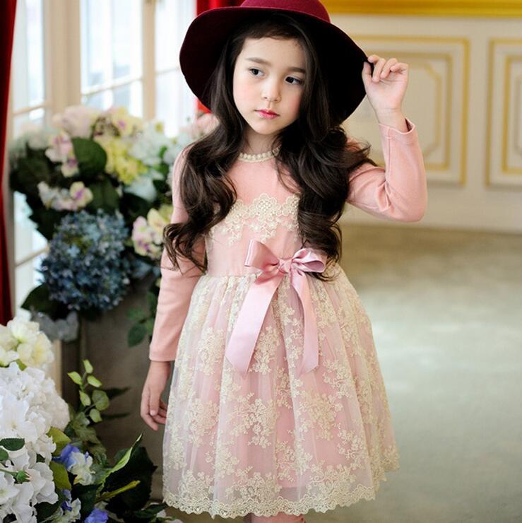 wholesale korean girl dresses fashion boutique embroidery