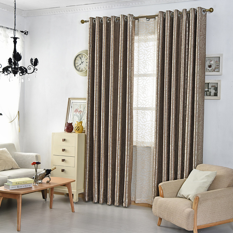 byetee] Blackout Kitchen Door Modern Curtains Drapes For Bedroom ...
