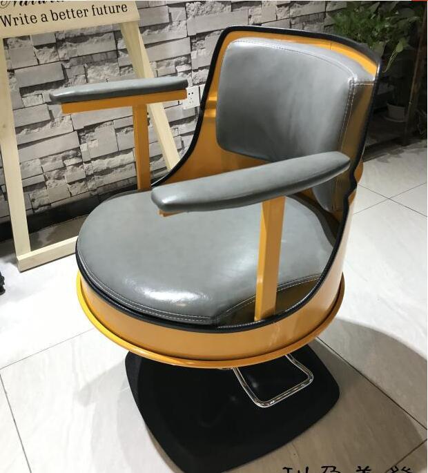 Commercial Furniture Barber Shop Retro Hair Chair Japanese Lift Hair Chair Special Cut Hair Chair Hairdressing Shop Hair Chair. Barber Chairs