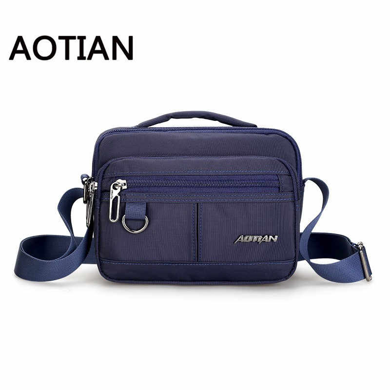 AOTIN New Style Design Sling Bag Men Nylon Shoulder Bag Crossbody Bag For Man Fashion Waterproof Clutch Messenger Bags