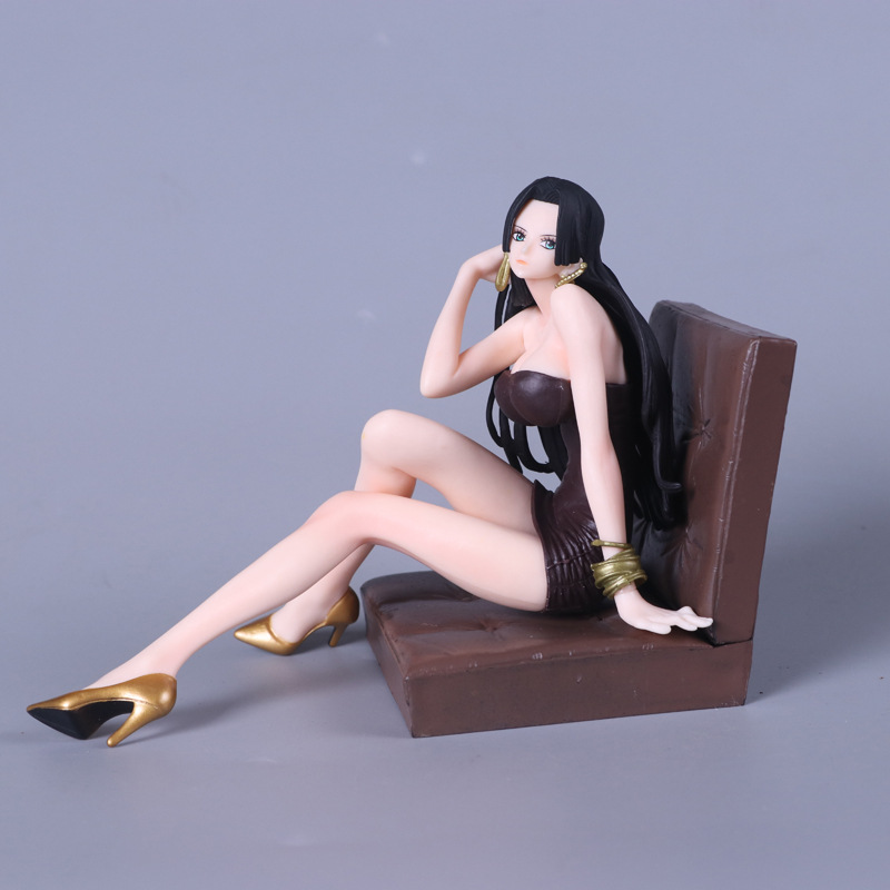 Anime One Piece CREATOR <font><b>X</b></font> CREATOR Boa Hancock <font><b>Sexy</b></font> PVC Action Figures Collection Model Toys Doll 12cm image