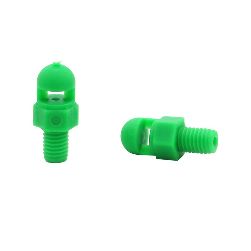 50Pcs 360 Degrees Refraction Sprinkler 1//4/' Connector Garden Micro Irrigation