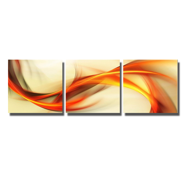 Abstract design canvas fabric wall art painting for home sense