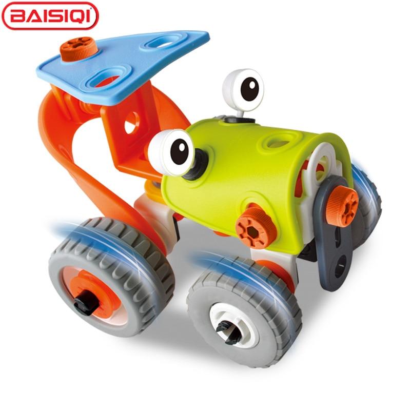 BAISIQI-3D-DIY-plasticRubber-Alien-Robert-Transformer-Assembly-Model-Building-Kits-Educational-Puzzles-for-boy-2