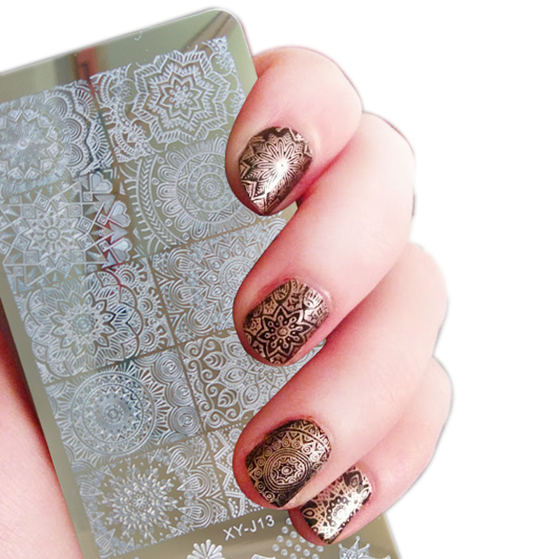 Aliexpress Buy 1pc Nail Art Stamp Plate Mandara Plate Paisley