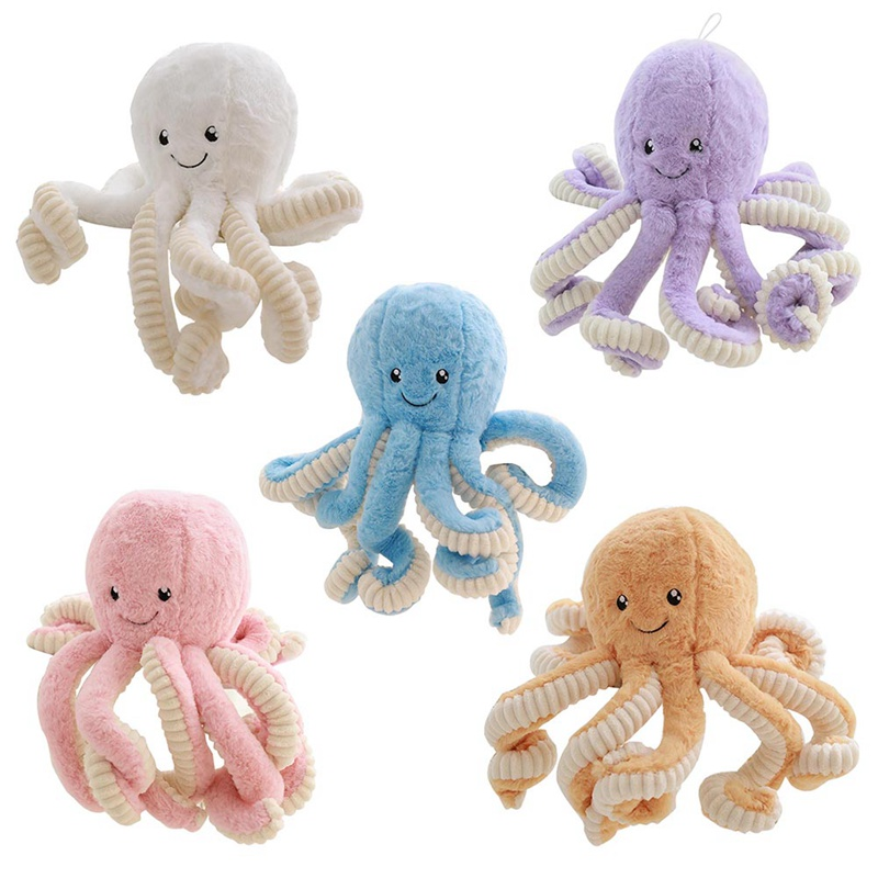 18cm Creative Cute Octopus Plush Toys Octopus Whale Dolls & Stuffed Toys Plush Small Pendant Sea Animal Toys Children Baby Gifts