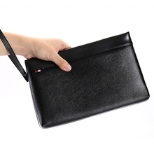 купить Genuine Leather Men's Clutch Bag Youth Fashion Envelope Bag Men Business Hand Bag Cowhide Wallet Man iPad Bag Best Gift For Men по цене 2097.36 рублей