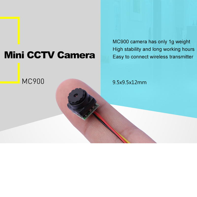 Free shipping 0.008 low Lux 1g Weight 9.5x9.5x12mm small size HD OEM CCTV security video camera for home, car, store,FPV use,etc