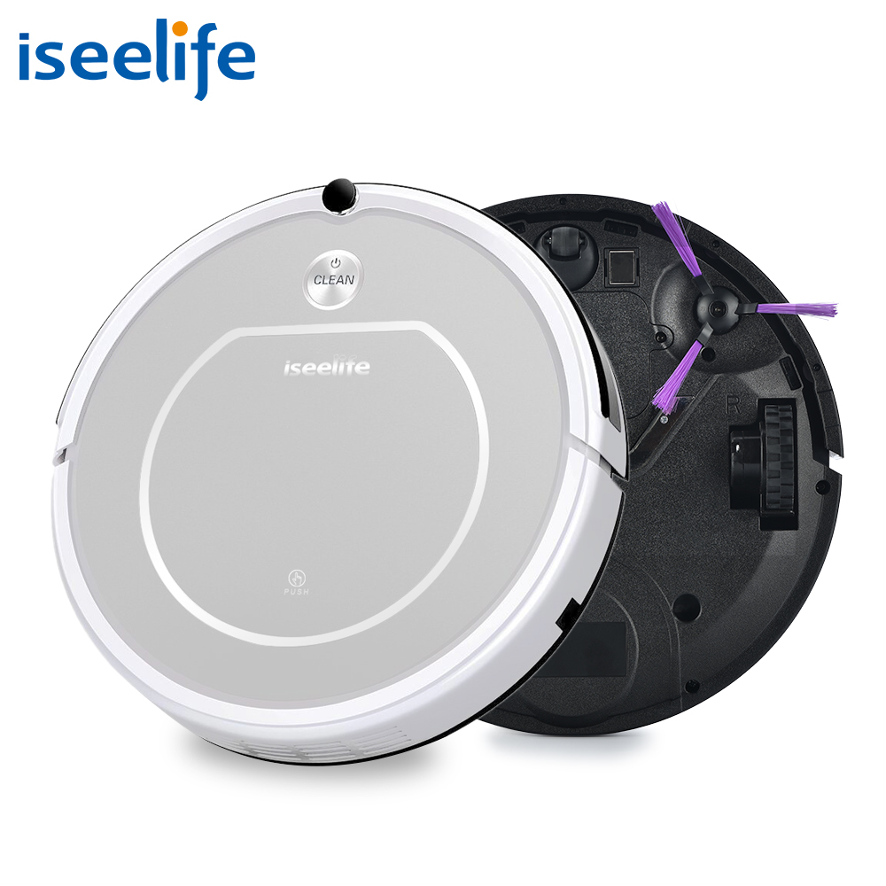 2017 ISEELIFE Intelligent Robot Vacuum Cleaner for Home PRO1 HEPA Dry Auto Charge Smart Cleaning Robotic Cleaner ROBOT ASPIRADOR robot vacuum cleaner for home hepa filter sensor automatic vacuum cleaner household intelligent robotic vacuum cleaner krv205