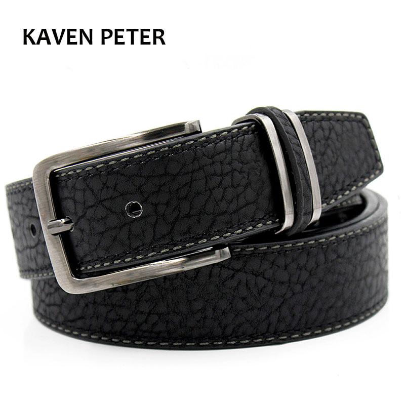 Men Belt Luxury Famous Brand Vintage Belt Classic Pin Buckle Belt For Men Luxury Brand Men Jeans Black Brown Color Free Shipping