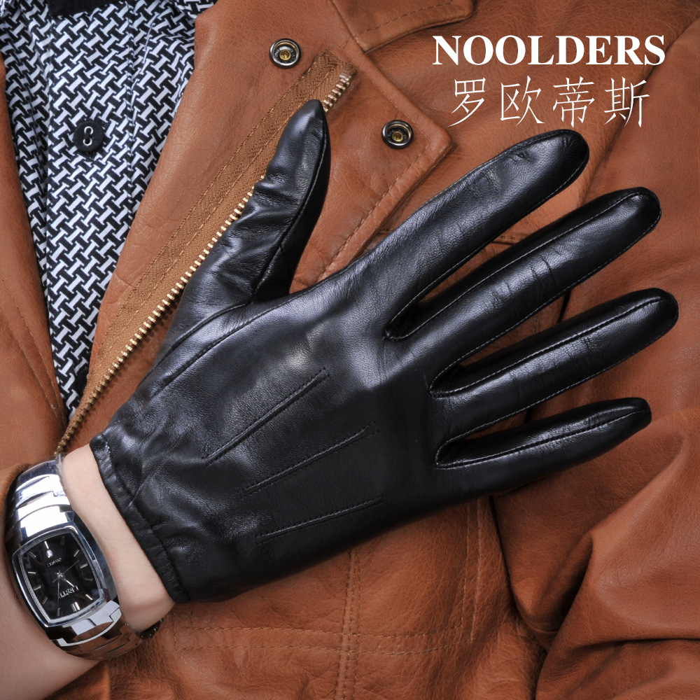 Mens black leather gloves debenhams - Mens Leather Gloves Short Fingers Aliexpress Com Buy Leather Gloves Male Thin Short Design Winter