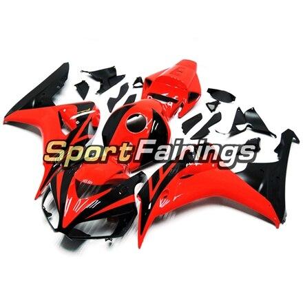 Полный обтекатели для Honda CBR1000 CBR1000RR 06 07 2006 2007 ABS пластик мотоцикла обтекатель с комплектом кузова капот Чехлы красные, черные