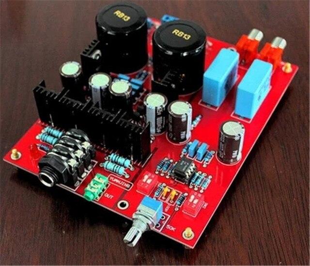 Lehmann headphone Amplifier board BD139+ BD140 + LM833 amplifier Headphone Amplifier