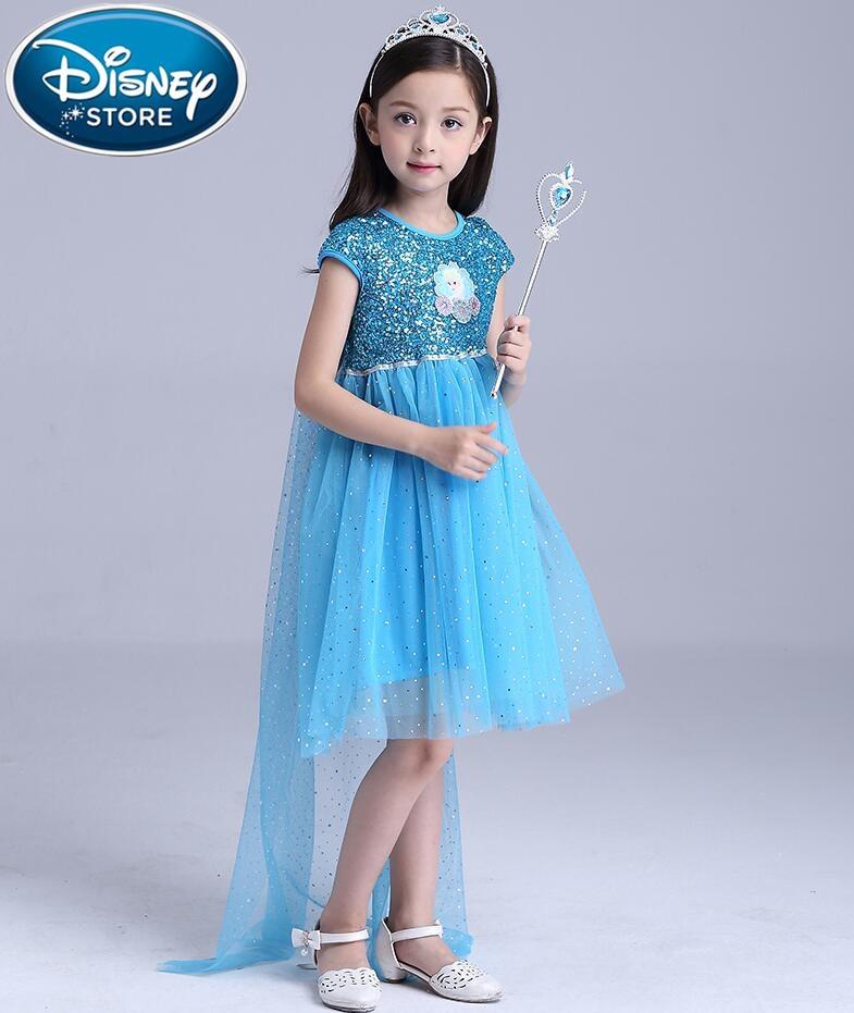 Mother & Kids Energetic Disney Frozen Dress Children Cosplay Elsa Anna Snow White Girl Princess Halloween Party Costume Birthday Party Dresses Kid Moana