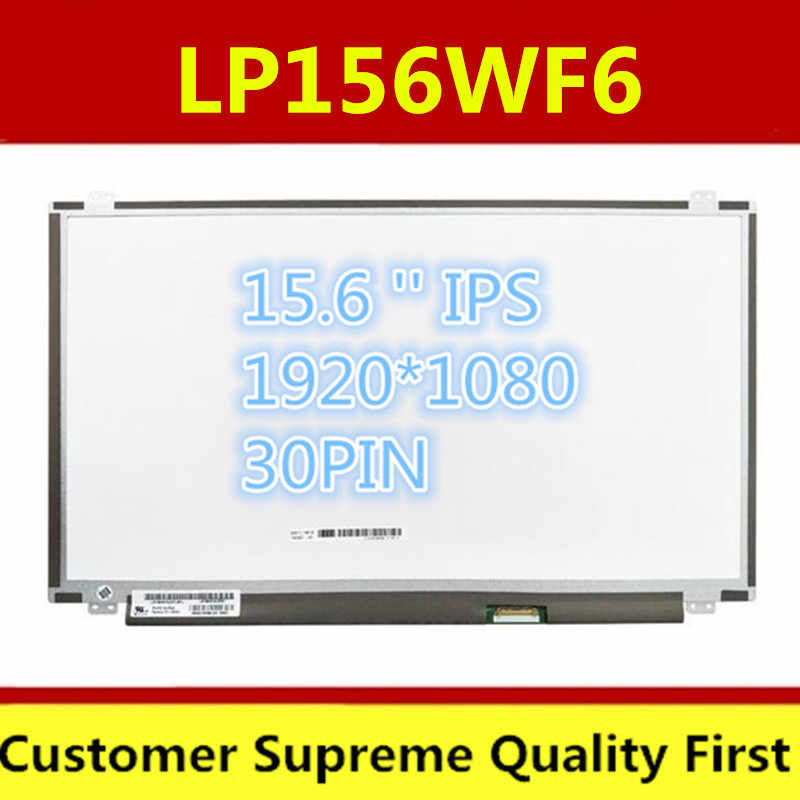 Pantalla IPS para portátil de 15,6 pulgadas B156HAN01.2 B156HAN01.1 LTN156HL02 LP156WF4 SPL1 LP156WF6 SPJ1 LP156WF4 SPB1n156hhe ga1 30PIN 1920X1080