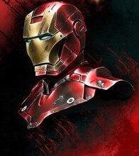 Résine Kits 1/10 moderne Tony Stark buste 1/10 Résine Pas couleur Modèle figure BRICOLAGE JOUETS nouvelle SECONDE GUERRE MONDIALE WW2