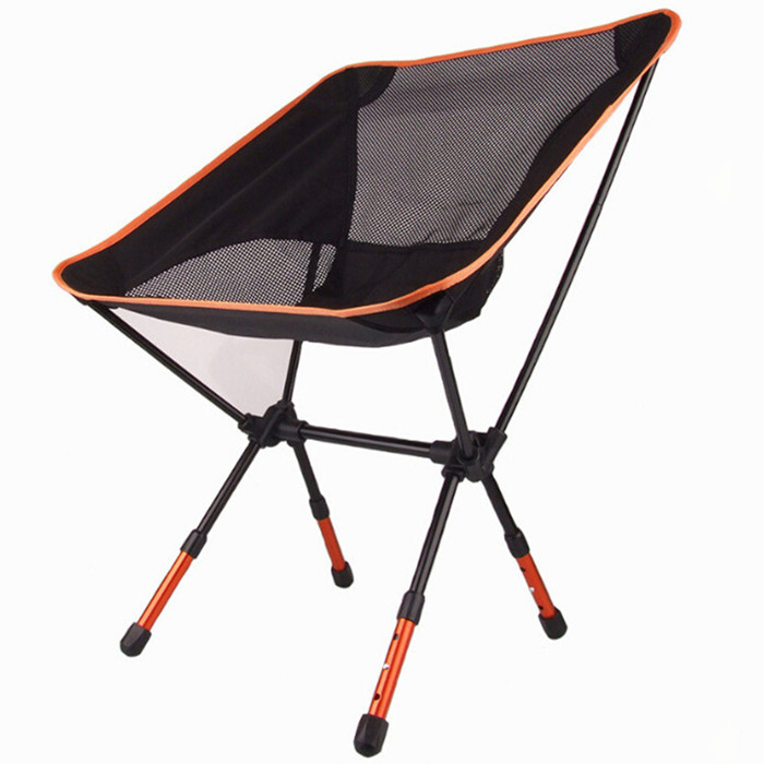 High Quality Aluminium Alloy Mesh Portable Chair For Fishing Camping Outdoor  Sports Ultralight Barbecue Folding Chairs In Beach Chairs From Furniture On  ...
