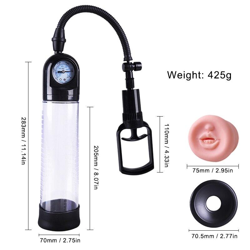 аппарат гидрофор для увеличения пениса придется