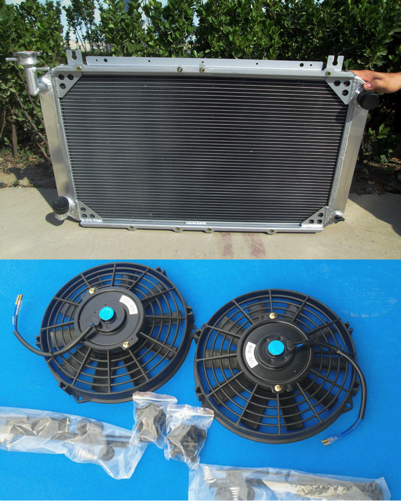High quality new 56mm aluminum radiator fans for nissan patrol gq safari 2 8 4 2 diesel