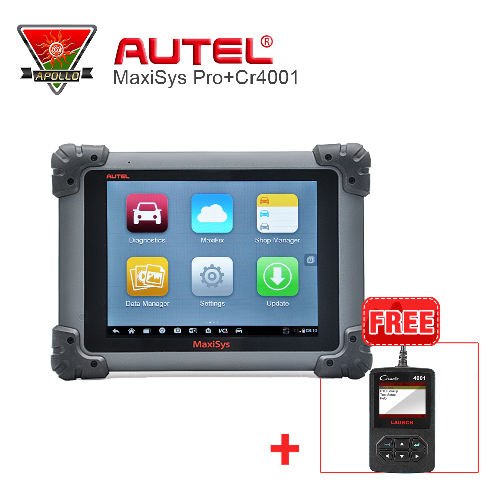 AUTEL MaxiSYS MS908 Pro + J2534 Diagnostic & ECU Programming Scan Tools +Free Gifts Creader 4001 autel maxisys elite car diagnosis j2534 ecu programing tool faster than ms908p 908 pro free update 2 years on autel website