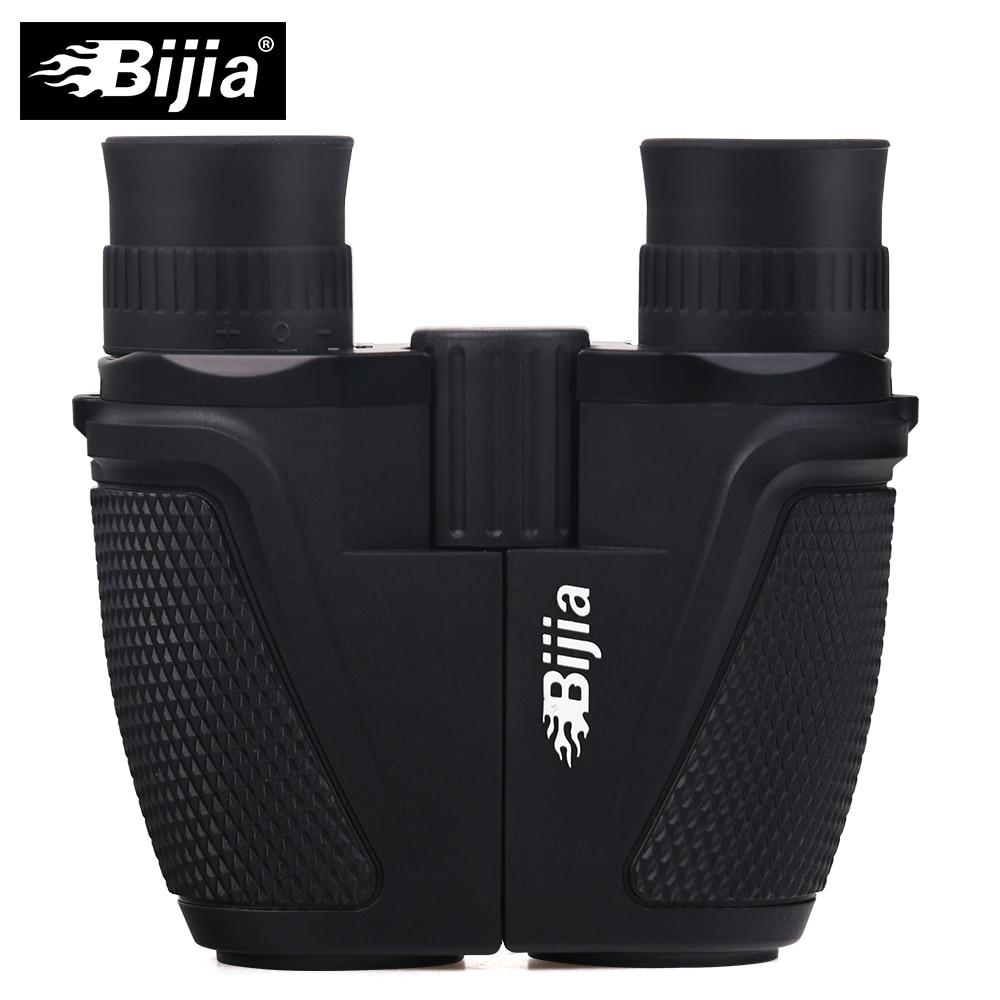 Bijia 12x25 BAK4 Призма Порро бинокулярный Профессиональный Портативный бинокль телескоп для Охота спортивные жизни Водонепроницаемый