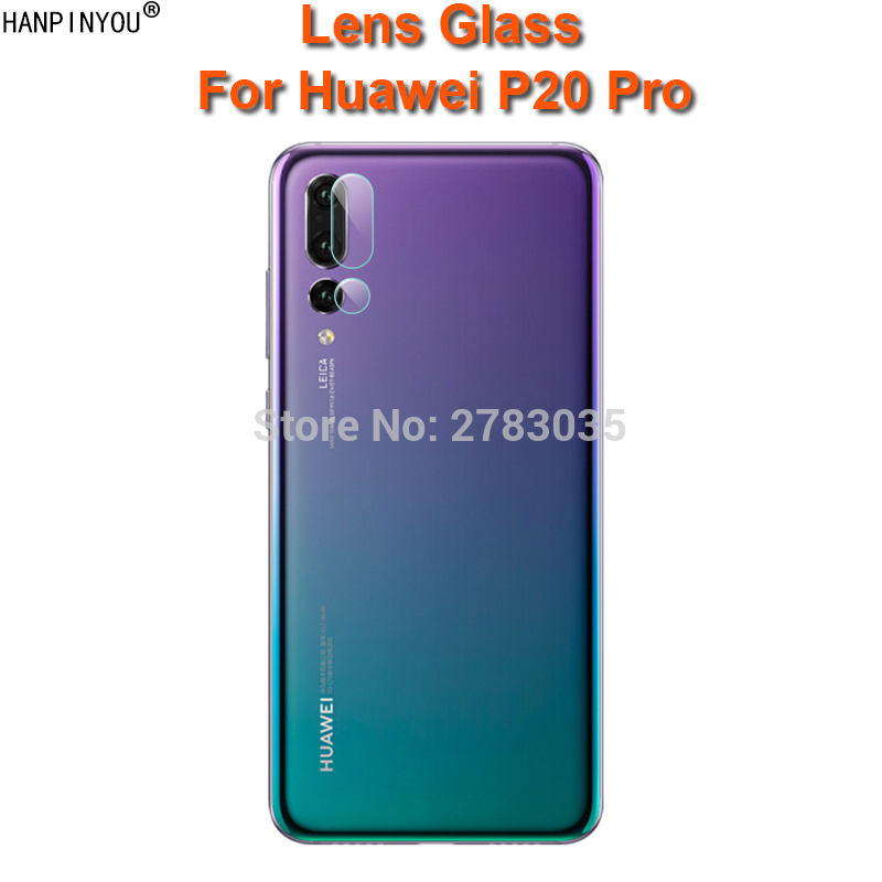 For Huawei P20 Pro 6.1 Clear Ultra Slim Back Camera Lens Protector Rear Camera Lens Cover Tempered Glass Film