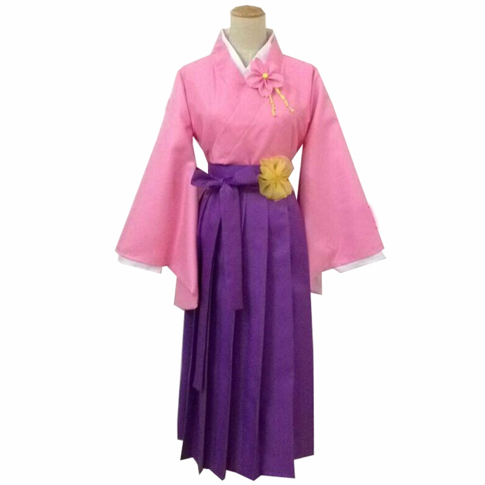 2018 Axis Powers Hetalia Cosplay Nyotalia Japan Honda Sakura cosplay costume Female Dress