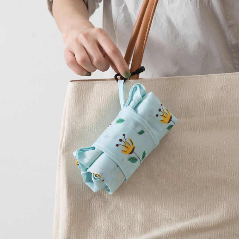 3e94d0ada1f ... Cute Reusable Shopping Bag Eco Friendly Grocery Supermarket Mom  Shopping Tote Bag Foldable Fabric Bag Travel ...