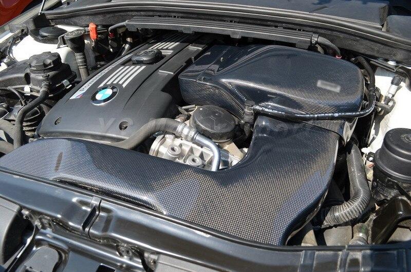 Accessoires de voiture en Fiber de carbone GPM Style Kit d'admission d'air adapté pour 2010-2012 1 M Coupe & 135I Kit d'admission d'air Style voiture