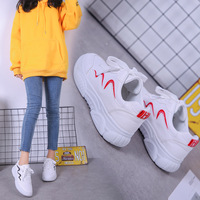 Women Vulcanized Shoes Casual Platform Spring Autumn Increasing Shoes Ladies Sneakers Female