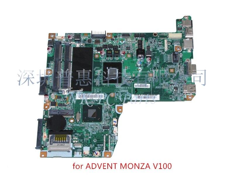 NOKOTION Main Board For ADVENT MONZA T100 T200 V100 V200 71R-C14CU6-T810 Laptop Motherboard SR08N Processor 847 NM70 DDR3