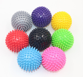 Durable PVC Spiky Massage Ball Trigger Point Sport Fitness Hand Foot Pain Relief Plantar Fasciitis Reliever