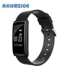 Aielemzion N108 Водонепроницаемый IP67 крови Давление монитор сердечного ритма Смарт Bluetooth крови кислородом часы умный Браслет