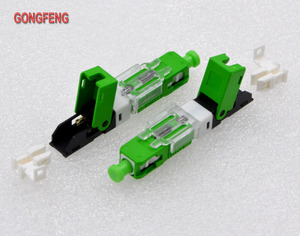 Image 4 - GONGFENG למכור חם חדש 100 יחידות סיבים אופטיים מהיר מחבר קר FTTH מצב יחיד SC UPC/APC מחבר מהיר סיטונאי מיוחד