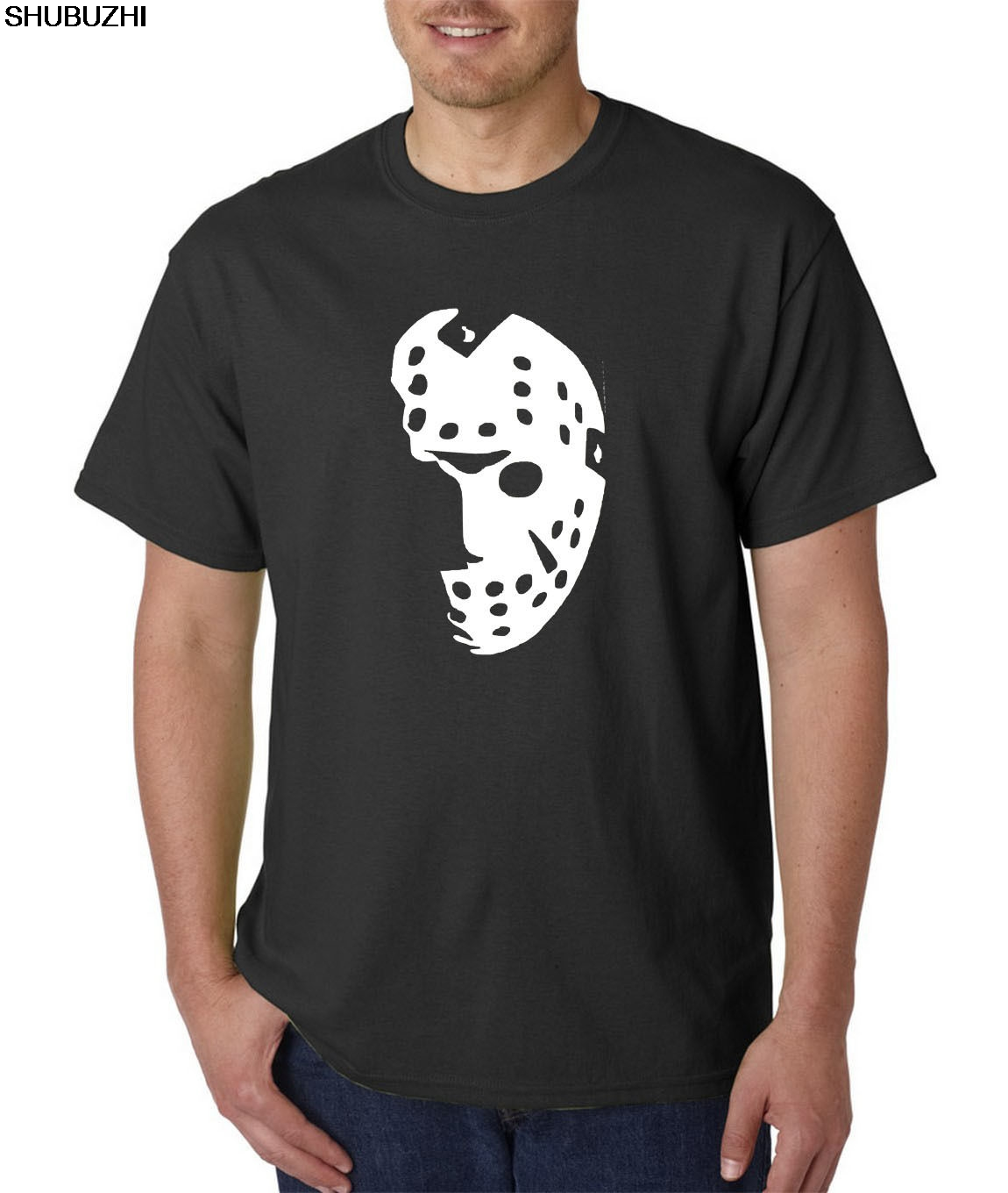 Friday The 13th Jason Voorhees Horror Freddy Comfortable T Shirt,casual Short Sleeve Tee Sbz4300 We Have Won Praise From Customers Halloween Hockey Mask T-shirt Tops & Tees Men's Clothing
