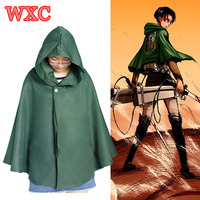 Japanese Anime Shingeki No Kyojin Cloak Wings Of Liberty Robe Scouting Legion Eren Levi Cosplay Attack