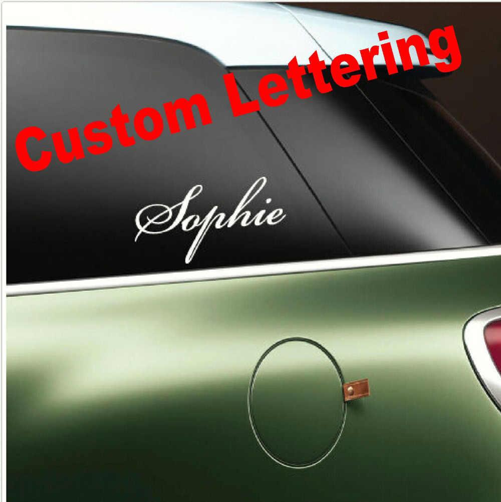 Stiker kustom murah kustom vinyl stiker harga rendah kustom warna Stiker mobil berkualitas tinggi Dinding, Jendela Stiker printing