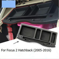 Car styling tank trunk pallet storage box storage tank case for Ford Focus 2 hatchback 2005 2016/Focus 3 hatchback 2012 2016