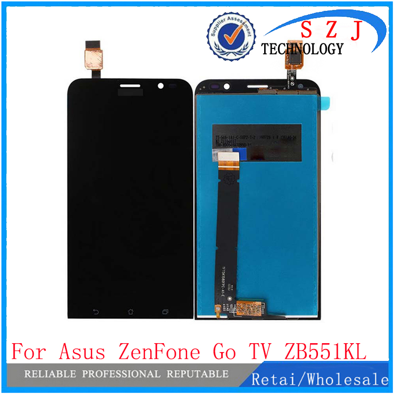 New 5.5''  inch case For Asus ZenFone Go TV TD-LTE ZB551KL X013D LCD display + touch Screen Panel Digitizer free shipping for asus 100% lcd asus zenfone 5 a500cg hongkong