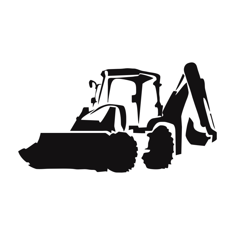 Cunymagos Jcb Digger Fashion Decor Stickers Decals Vinyl Car Accessories Car Styling Motorcycle Wall Sticker Decal 19.5cm10 (4)