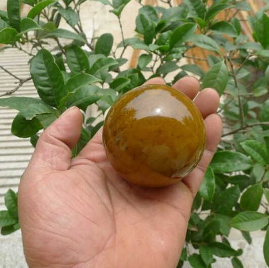 SUIRONG---429+++Natural Ocean Jasper Stone Sphere Ball Madagascar