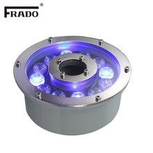 Hot Sale Led fountain light 6w 9w 12w 18w Led Pool Light Free AC12V AC