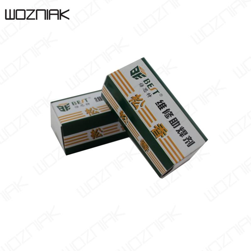 Wozniak High Purity Carton Rosin Soldering Iron Soft Solder Welding Repair Fluxes Environment-friendly Tin Material Paste Сварка