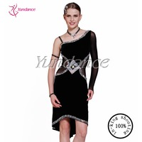 L 13119 Best Seller Gorgeous Stretch Elegant Latin Dance Dress Women