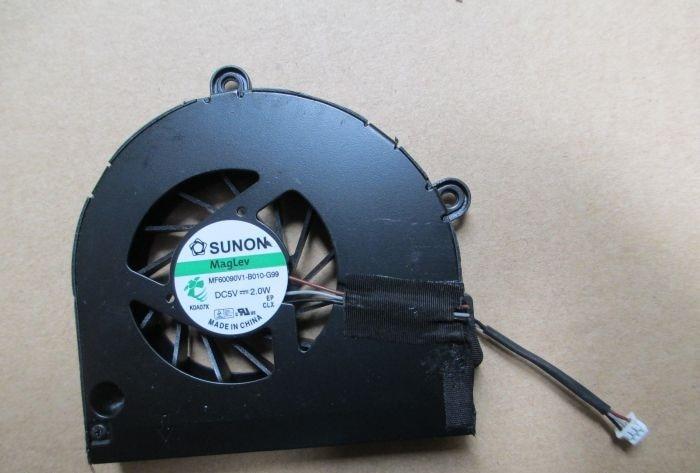 Nuevo ventilador de CPU SSEA para Acer Aspire 5552 5253 5253G 5742G 5336 5736 CPU ventilador de refrigeración MF60090V1-B010-G99