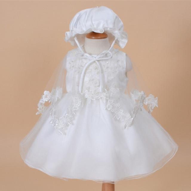 c9cda1fc4 AZEL 2017 Formal Elegante Vestidos de Niña de Bebé de Color Sólido Vestido  de Cumpleaños Ropa