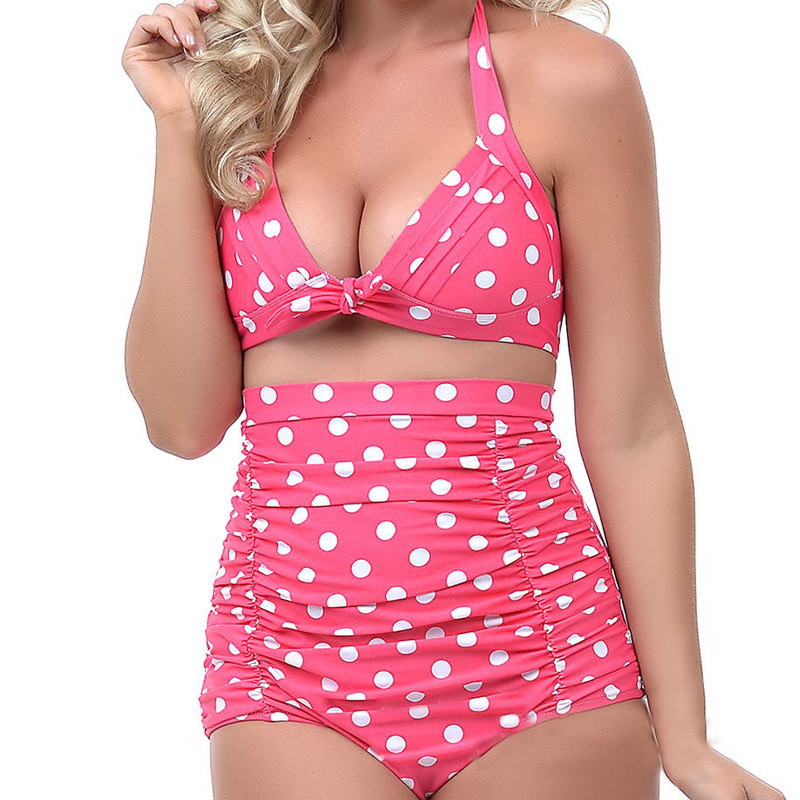 Women's Clothing Womens High Waist Swimsuit Retro Bikini Vintage 50s Pinup Girl Bathing Suit At All Costs
