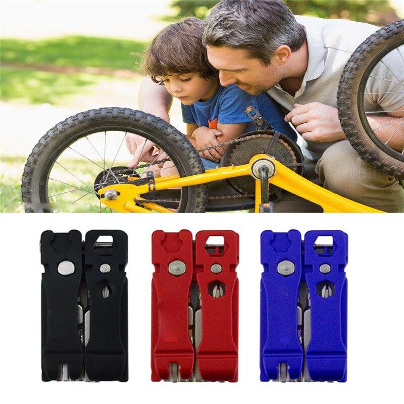 2018 19 в 1 шестигранных ключей Отвертка гаечный ключ велосипед инструменты Multi Ремкомплект Набор инструментов безопасности и выживания Z919